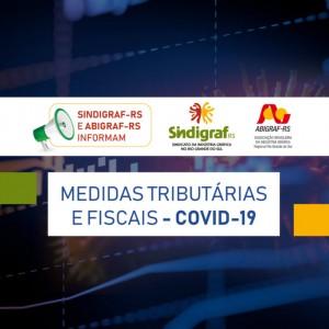 COVID-19:   Medidas Tributárias e Fiscais